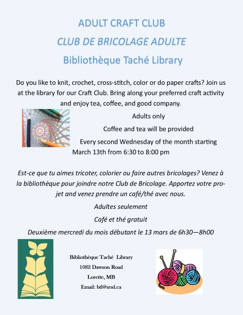 Craft Club - Club de Bricolage